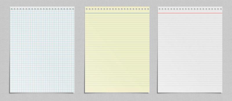 Печать на фирменных блокнотах