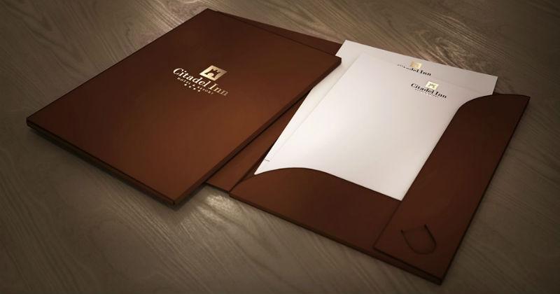 Печать на папках в Минске